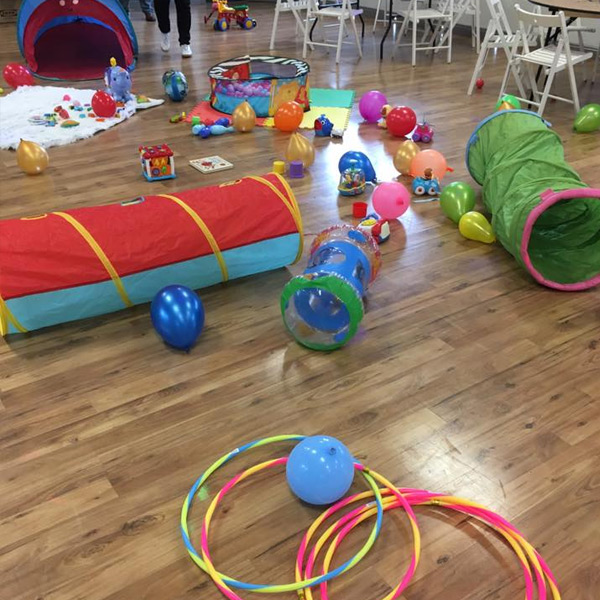 toddler playgroup, inflatable balls, party venue hire, children party