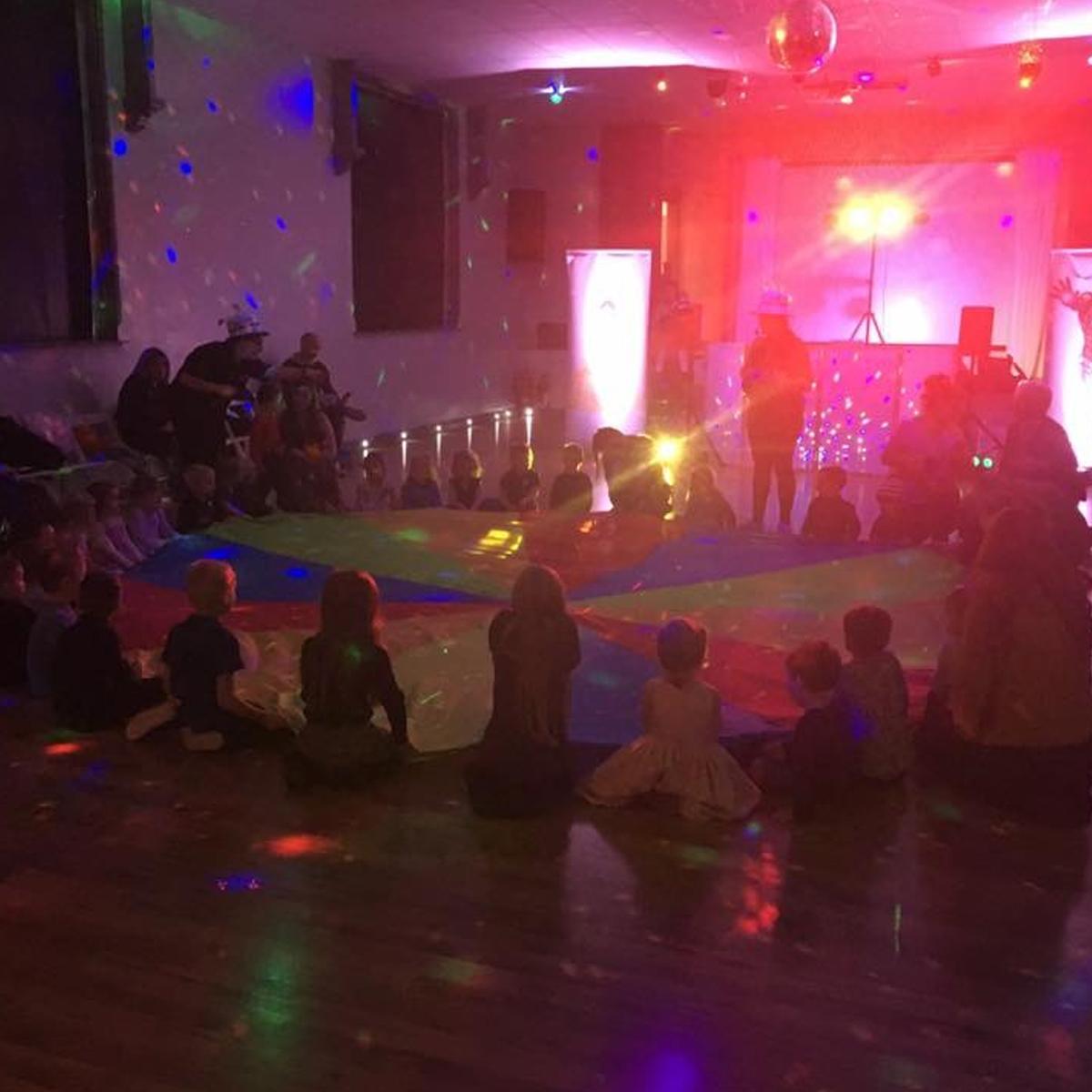 birthday part games, disco lights, toddler games